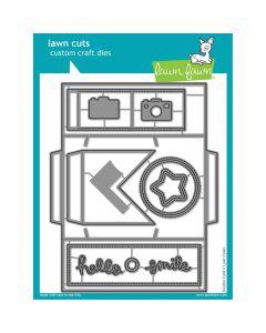 Shutter Card Lawn Cuts Dies - Lawn Fawn