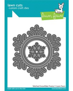 Stitched Snowflake Frame Dies - Lawn Fawn
