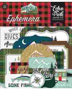 Let's Go Camping Ephemera - Echo Park