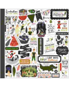 Lost in Neverland Element Stickers - Echo Park