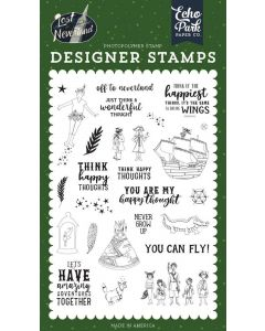 Off to Neverland Stamp - Lost in Neverland - Echo Park