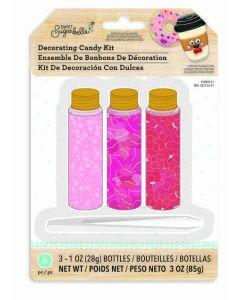 Sweet sugarbelle lips, cheeks, and bows sprinkles