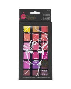 Lit Up Palette Pastel Set - Making Faces - Jane Davenport - Spellbinders