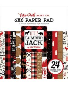 "Little Lumberjack 6"" x 6"" Paper Pad - Echo Park"