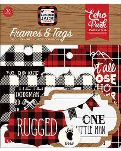 Little Lumberjack Frames & Tags - Echo Park