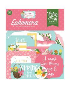 I Love Spring Ephemera - Echo Park
