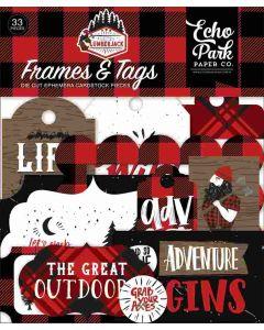 Let's Lumberjack Frames & Tags - Echo Park