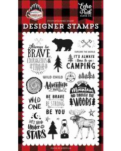 Under The Stars Stamps - Let's Lumberjack - Echo Park