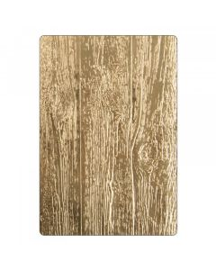Tim Holtz 3D embossing folder lumber