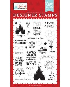 Our Favorite Thing Stamp Set - Magical Adventure 2 - Echo Park