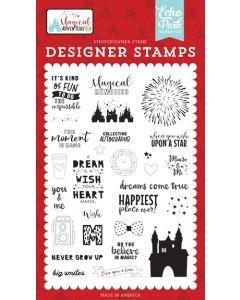 Dreams Come True Stamp Set - Magical Adventure 2 - Echo Park