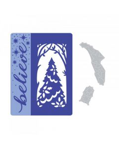 Sizzix Magic of the Season Embossing Folder