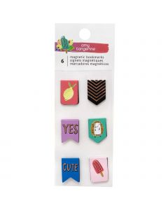 Amy Tangerine Mini Magnetic Bookmarks