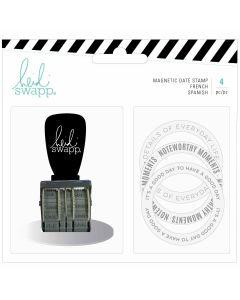 Heidi Swapp Magnetic Date Stamp