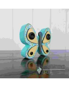 Foundations Decor Wooden Butterfly Home Collection