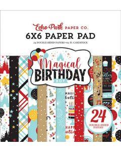 "Magical Birthday Boy 6"" x 6"" Paper Pad - Echo Park*"