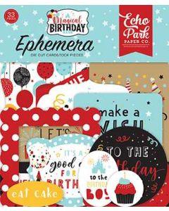 Magical Birthday Boy Ephemera - Echo Park*
