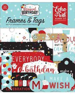 Magical Birthday Boy Frames & Tags - Echo Park*