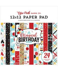 "Magical Birthday Boy 12"" x 12"" Paper Pad - Echo Park"