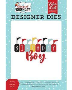 Birthday Boy Flags Dies - Magical Birthday Boy - Echo Park