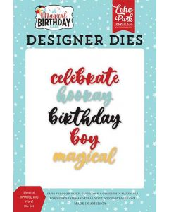 Magical Birthday Boy Word Dies - Echo Park