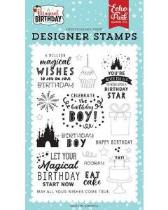 Wishes Come True Stamps - Magical Birthday Boy - Echo Park*