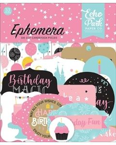 Magical Birthday Girl Ephemera - Echo Park*