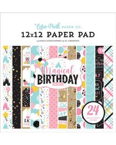 "Magical Birthday Girl 12"" x 12"" Paper Pad - Echo Park"