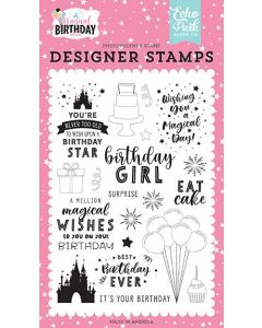 Birthday Magic Stamps - Magical Birthday Girl - Echo Park