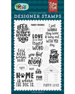 Furry Friends Stamps - My Dog - Echo Park