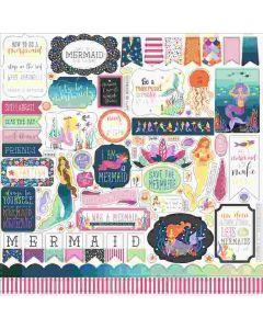 Mermaid Dreams Element Stickers