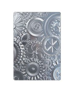 3D Mechanics Embossing Folder by Tim Holtz