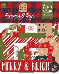 My Favorite Christmas Frames & Tags - Echo Park
