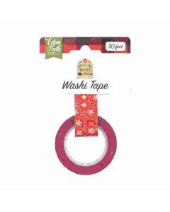 Jolly Snowflakes Washi Tape - My Favorite Christmas - Echo Park