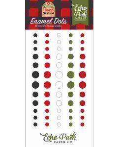 My Favorite Christmas Enamel Dots - Echo Park