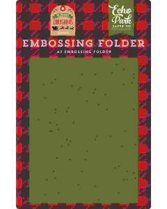To All A Good Night Embossing Folder - My Favorite Christmas - Echo Park