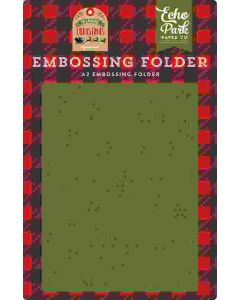 Christmas Snowfall Embossing Folder - My Favorite Christmas - Echo Park