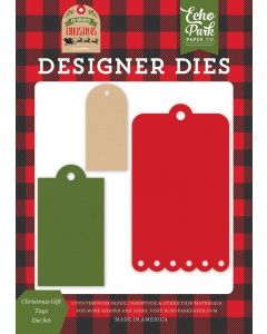 Christmas Gift Tags Die Set - My Favorite Christmas - Echo Park