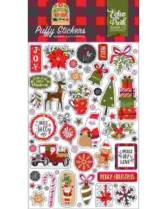 My Favorite Christmas Puffy Stickers - Echo Park