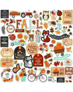 My Favorite Fall Element Stickers - Echo Park