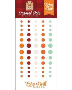 My Favorite Fall Enamel Dots - Echo Park