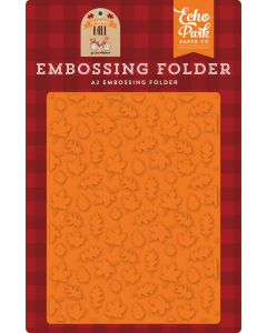 Fall Is In The Air Embossing Folder - My Favorite Fall - Echo Park