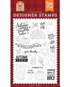 Celebrate Fall Stamp Set - My Favorite Fall - Echo Park