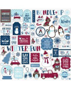 My Favorite Winter Element Stickers - Echo Park