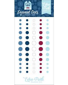 My Favorite Winter Enamel Dots - Echo Park