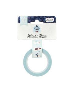 Sweet Snowman Washi Tape - My Favorite Winter - Echo Park