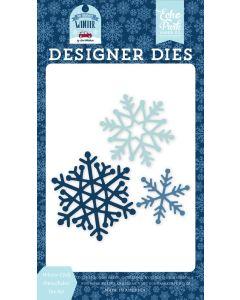Winter Chill Snowflakes Die Set - My Favorite Winter - Echo Park