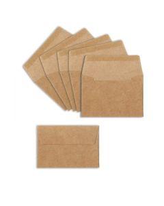 Sizzix Paper - Envelopes, Mini, 6 Kraft