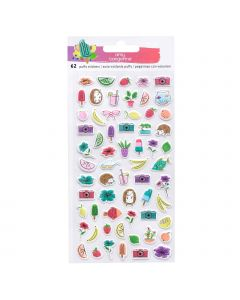 Stay Sweet Mini Puffy Stickers