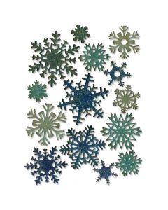 Mini Snowflake die set from Tim Holtz